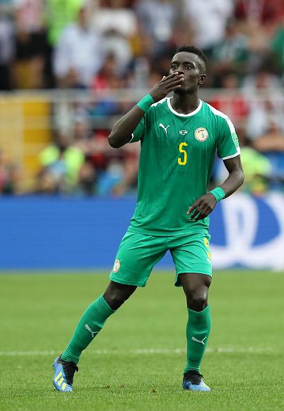 Idrissa Gueye, do Everton, foi o autor do chute do gol senegalês (Foto: Kevin C. Cox/Getty Images)