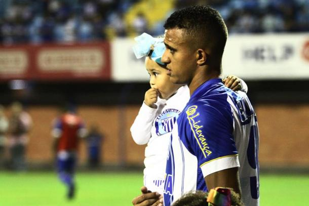 Rômulo tem seis gols no ano (Foto: Jamira Furlani/Avaí FC)