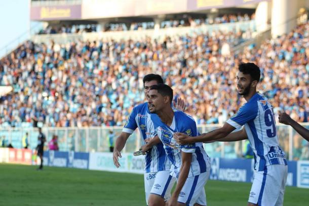 Amorim já marcou 13 vezes em 2019 (Foto: Frederico Tadeu/Avaí FC