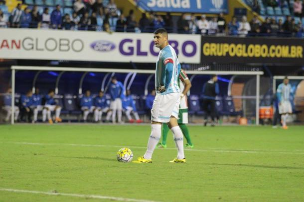 William é o artilheiro do Leão no início da temporada com sete gols (Foto: