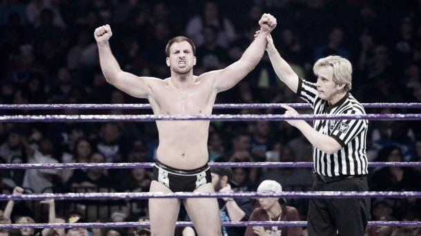 An important victory for Gulak. Photo-WWE.com