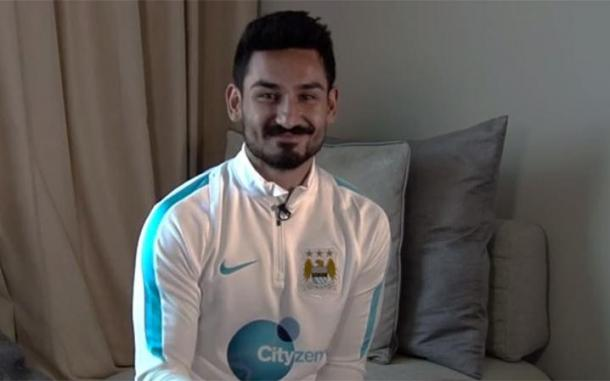 Gundogan pictured in City attire for the first time | Photo: thetelegraph