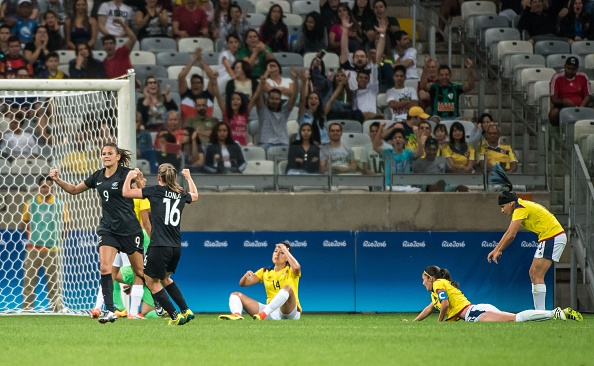 Hern gives the Ferns the win and three big points over Colombia (credit: Gustavo Andrade/Getty)