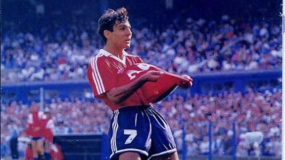 Gustavo López inició su carrera en Independiente de Avellaneda (Foto: espn.com.ar)