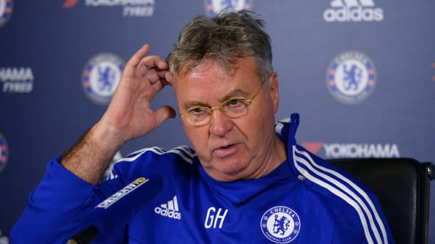 Hiddink is hoping to leave Chelsea on a high. | Image: Sky Sports
