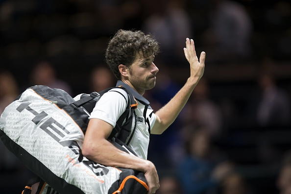 Haase departs after defeat to Simon