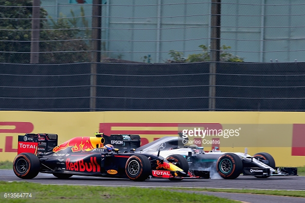 Verstappen frustrated Hamilton to claim second. | Photo: Getty Images