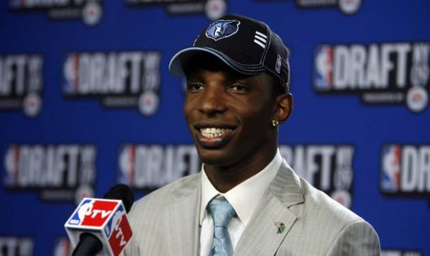 Raj thinks the Grizzlies will land the No. 1 pick in the lottey. Memphis hasn't been in the top three since 2009 when they drafted Hasheem Thabeet with the No. 2 pick. Photo: AP Photo/Jason DeCrow