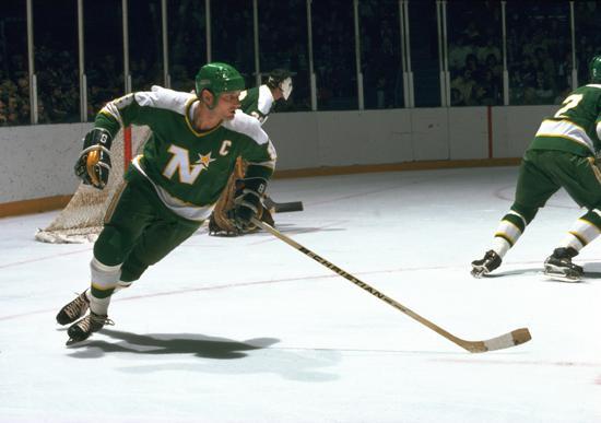 Bill Goldsworthy, miembro original de los North Stars (State Of Hockey)