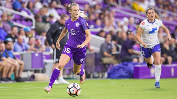 Rachel Hill has some big shoes to fill | Source: orlandocitysc.com