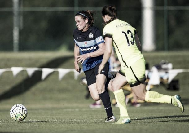 Heather O'Reilly was key to FC Kansas City's attack | Source: kansascity.com (Brian Davidson Special to the Star)
