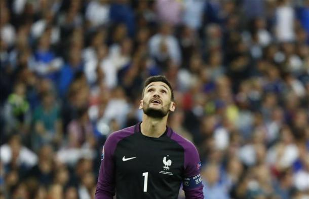 Lloris suffered Euro 2016 agony with France (photo: Reuters)