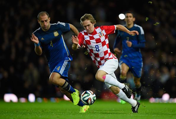 Halilovic no tenía hueco en un mediocentro con Rakitic, Modric o Kovacic. // Foto: Getty Images