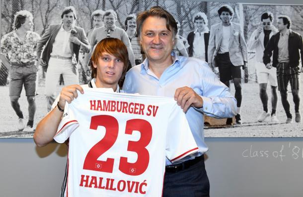 Halilovic ready to start new chapter   Image: hsv.de