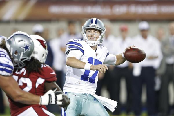 Kellen Moore #17 of the Dallas Cowboys |Source:Joe Robbins/Getty Images North America|