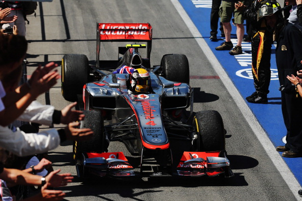 A McLaren é a equipe mais vitoriosa no Canadá, com 12 triunfos - o último com Hamilton, em 2012 (Foto: Mark Thompson/Getty Images)