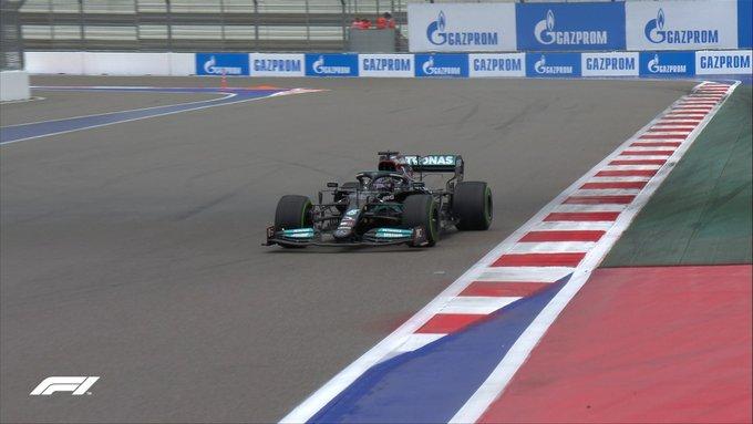 Lewis Hamilton en la parte final del trazado. (Fuente: F1)