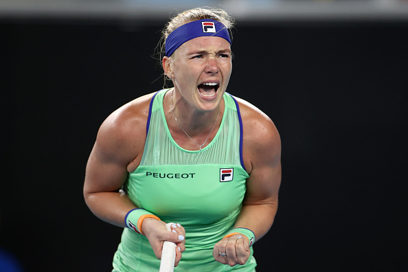 Bertens has yet to drop a set in Melbourne (Photo: Hannah Peters)