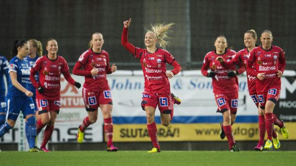 Linköping have been in fine form this season. | Image source: Svenska Fotboll
