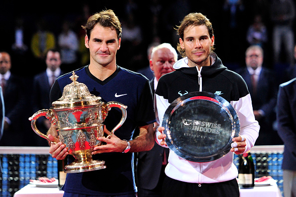 Federer defeated Nadal in their most recent meeting in 2015, at the Swiss Indoors in Basel. Credit: Harold Cunningham/Getty Images