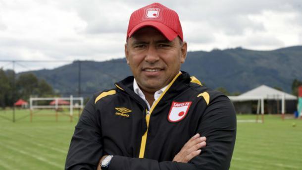 Harold Rivera, el nombre detrás del cambio de Santa Fe. Imagen: Marca Claro Colombia