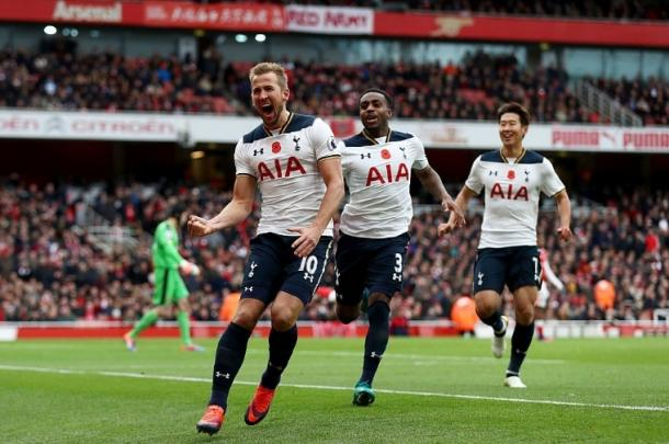 Harry Kane was back on the pitch, and back among the goals | Photo: Tottenham Hotspur FC