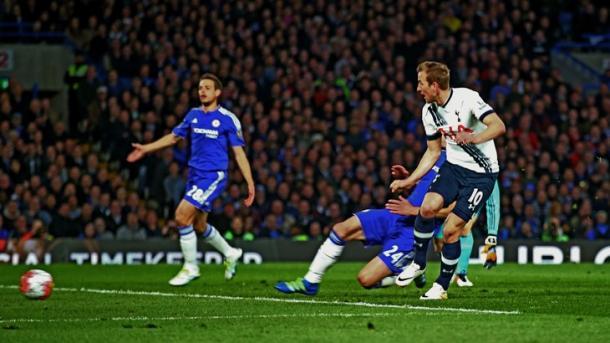 Harry Kane avait pourtant ouvert le score pour Tottenham (photo : tottenhamhotspur.com)