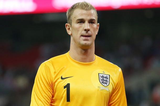 Joe Hart's England future has been under threat. Photo: Daily Star.