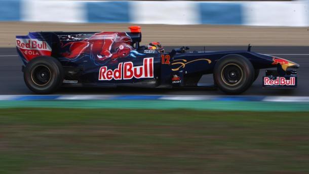Hartley foi piloto de testes e reserva da Toro Rosso entre 2008 e 2010 (Foto: Divulgação/Scuderia Toro Rosso)