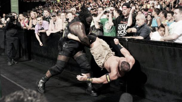 Henry was in dominant fashion. Photo- WWE.com