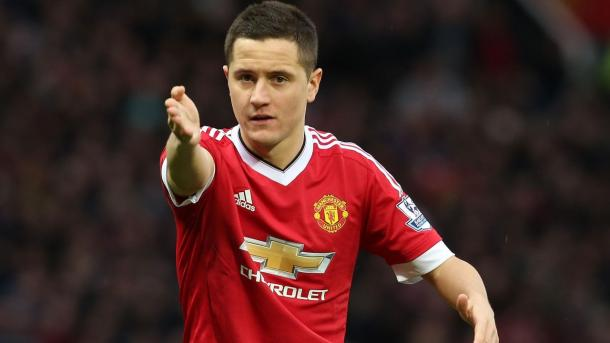 Herrera might be the best option to partner Pogba this season / ManUtd.com