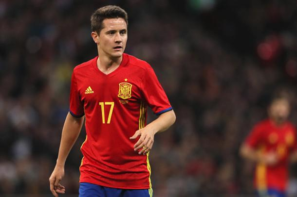 Ander Herrera's recent debut has given Romeu hope that English-based Spaniards can make the international team. Photo: Getty.