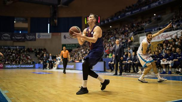 Thomas Heurtel ha vuelto a marcarse un doble doble por segunda jornada consecutiva | Foto: ACB Photo