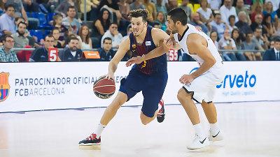 Thomas Heurtel controló el partido y es uno de los líderes del FC Barça Lassa | ACB Photo