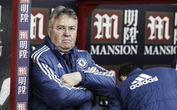Guus Hiddink back again as Chelsea boss. Photo: The Telegraph