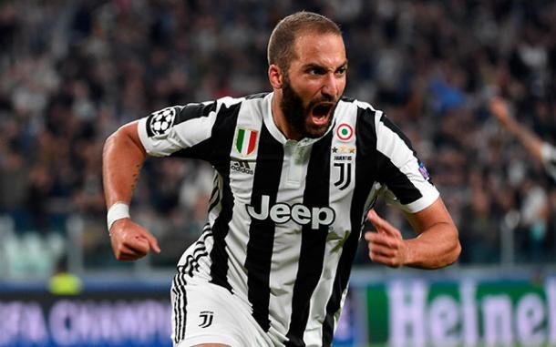Higuaín garantía de gol | Foto: Juventus