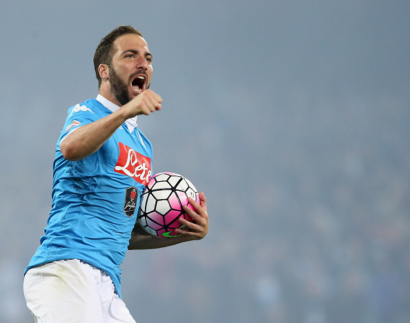 Higuaín (Foto: Maurizio Lagana/Getty Images)