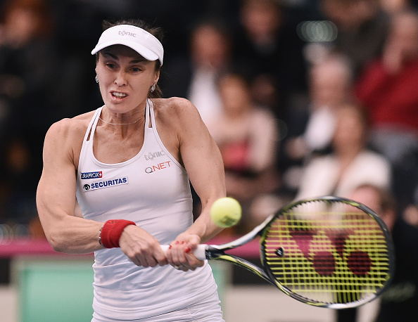 Hingis in action against Germany (Getty/Dennis Grombkowski)