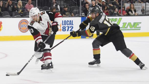 Vinnie Hinostroza adds another dimension to the Coyotes' offense. | Photo: NHL.com