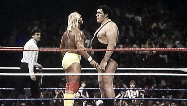 Hogan produced one of the most iconic moments against Andre the Giant at WrestleMania III source: uproxx