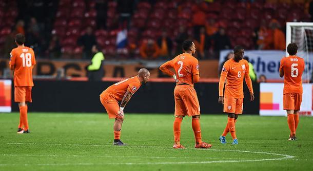 La eliminación de Holanda en la clasificación a la Eurocopa. Cortesía del País de Cali