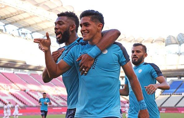 Celebración de Honduras en los Juegos Olímpicos // Fuente: Selección de Honduras