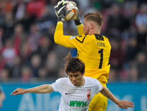 It was a battling performance from both sides.   Image source: Getty Images - kicker