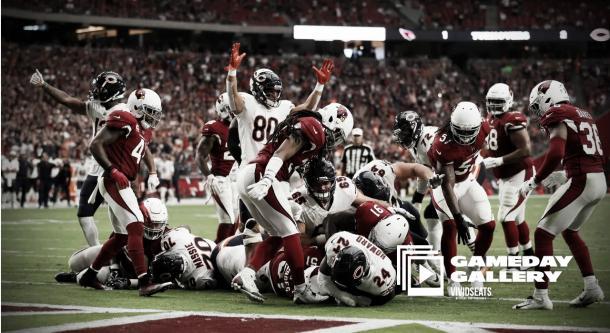 Touchdown de Jordan Howard | Foto: ChicagoBears.com