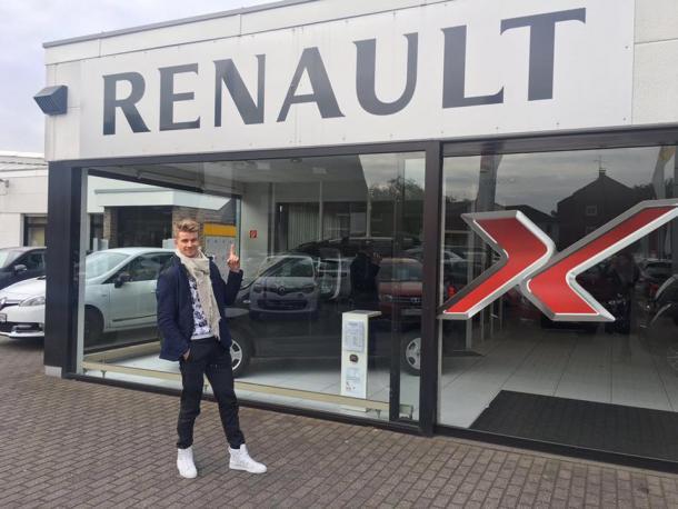 Nico Hülkenberg sai da Force India e vai para a Renault, em uma das principais transações do mercado (Foto: Divulgação/Nico Hülkenberg)