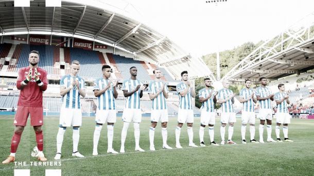 El Huddersfield espera empezar con pie derecho la Premier League | Fuente: Huddersfield Town.