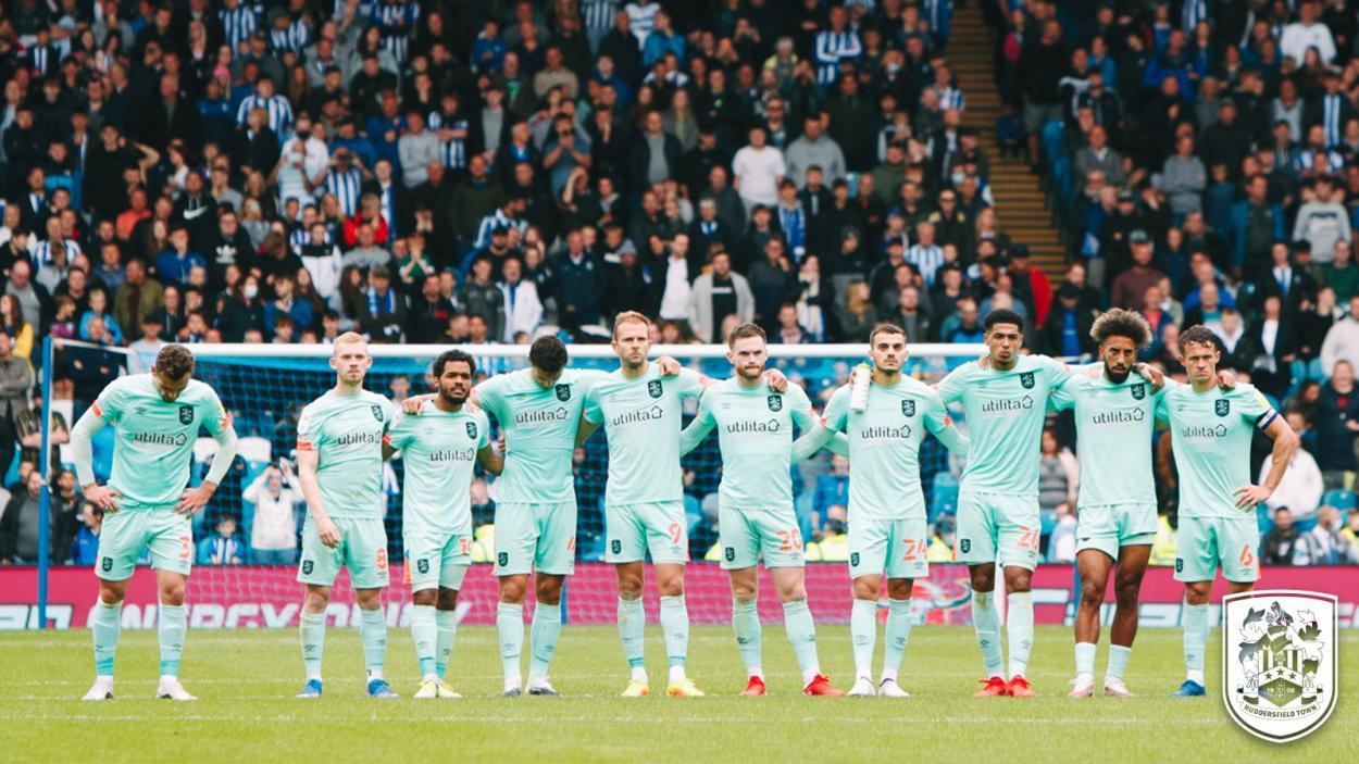 Huddersfield Town en un partido amistoso // Fuente: Huddersfield Town