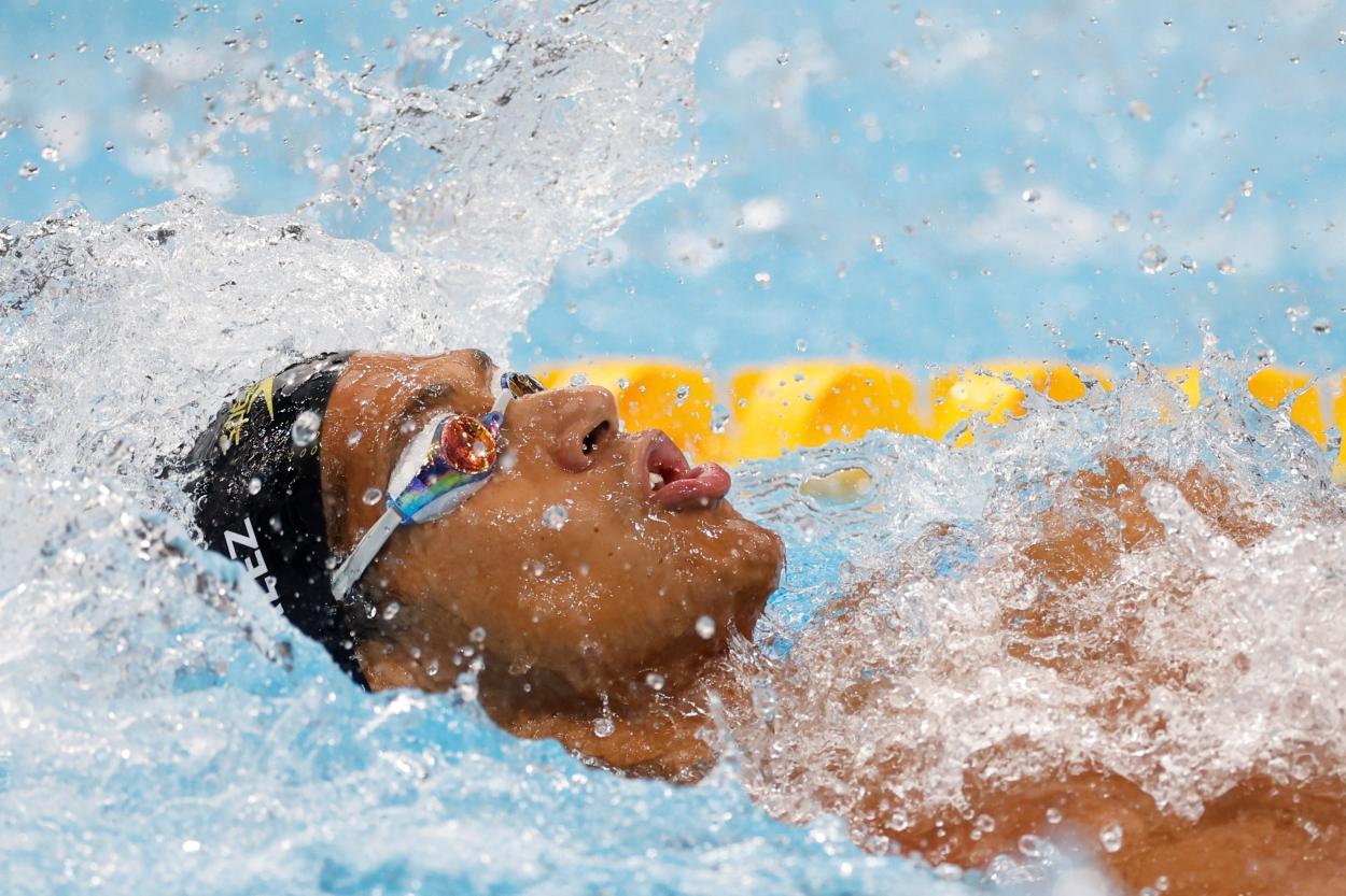 Hugo G. Swimming // Source: Olympic Games