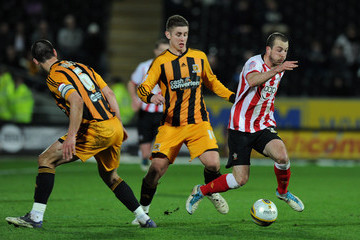 Southampton and Hull do battle in the Championship, back in 2012. Photo: Tom Cairney (Zimbio).