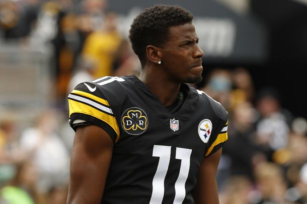 Justin Hunter looks to improve with the Steelers | Source: steelers.com